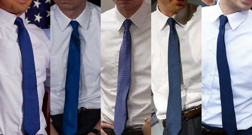 right color of tie